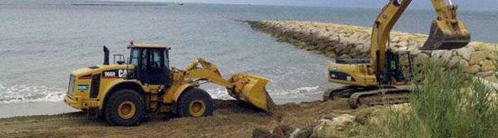 FCC Construcción construirá el sendero peatonal entre las playas de Fuentebravía y Las Redes (Cádiz)
