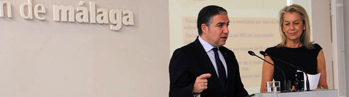 La Diputación de Málaga concluye 2015 con la transferencia de 86 millones de euros a municipios