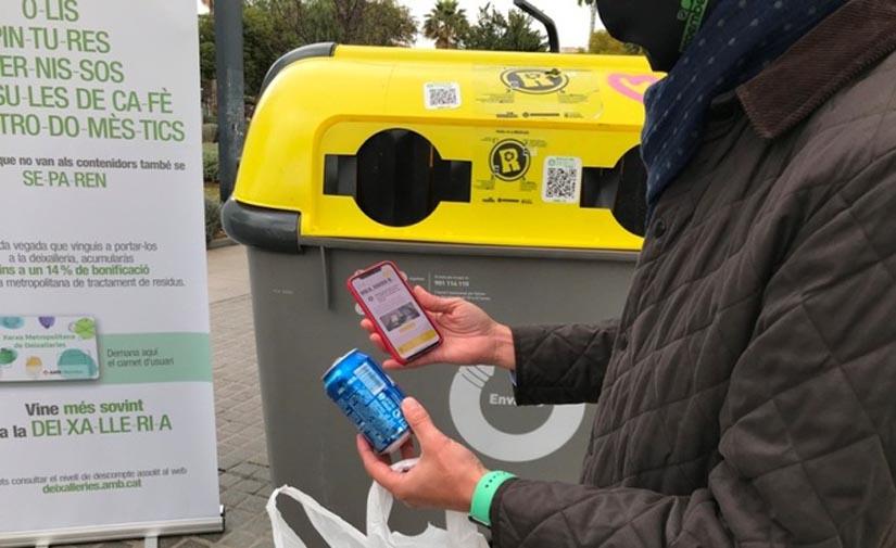 Badalona se suma a RECICLOS, el sistema de reciclaje con recompensa de Ecoembes