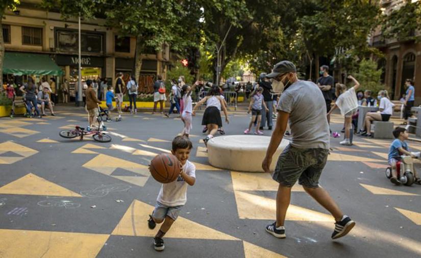 Barcelona apuesta por el modelo de las supermanzanas con su implantación en L'Eixample