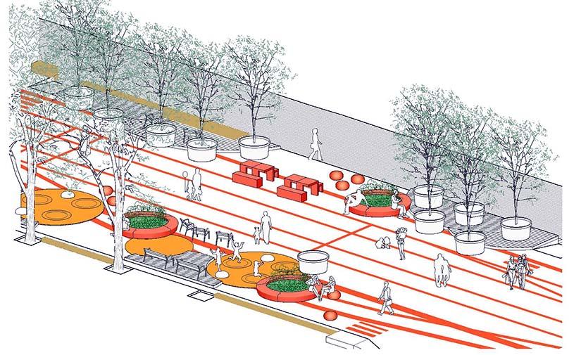 Barcelona hará mejoras en la urbanización de la ronda de Sant Antoni