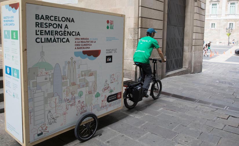 Barcelona refuerza sus acciones para combatir la emergencia climática