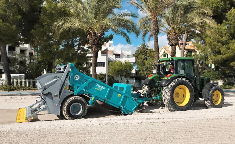 BeachTech 2500, una nueva generación de equipos limpiaplayas