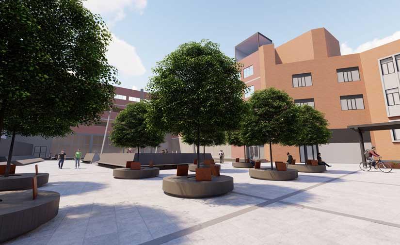 Bilbao abordará la urbanización de la plaza de los edificios Beta 1 y Beta 2 en Zorrotzaurre e implantará un sistema de geotermia