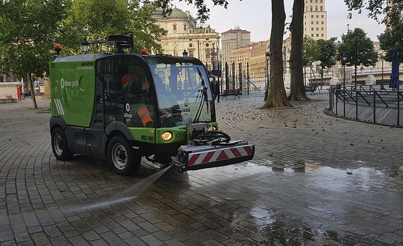 Bilbao refuerza los servicios de limpieza y reorganiza la recogida de residuos