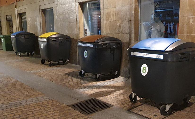 Bilbao reorganiza la recogida de residuos domiciliarios en el Casco Viejo