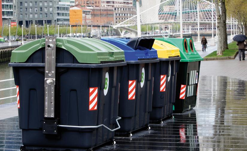 Bilbao se alía con CONTENUR para reciclar los viejos contenedores de la ciudad