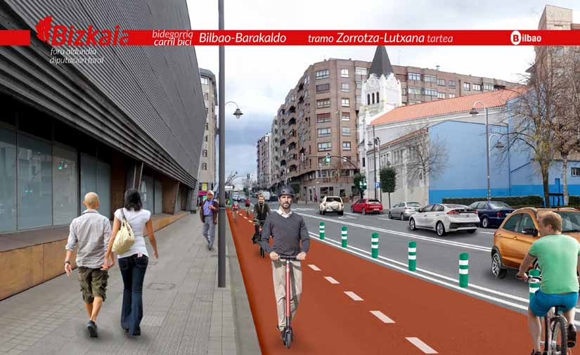 Bilbao y Barakaldo conectan sus redes para facilitar los desplazamientos en bicicleta