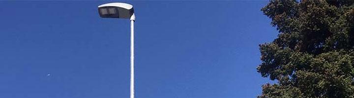 El Escorial comienza la segunda fase de renovación de alumbrado público