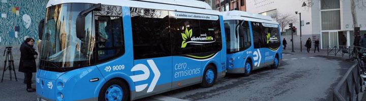 EMT Madrid renueva la flota de minibuses eléctricos del distrito de Centro