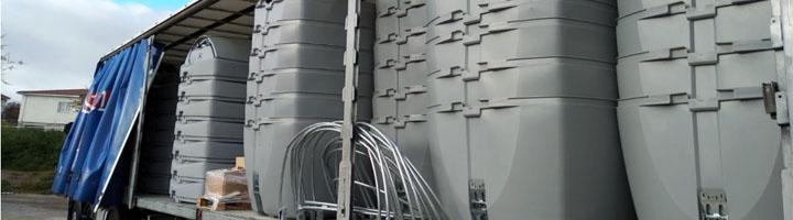 Colmenar Viejo adquiere 231 nuevos contenedores que ya están ensamblando para su posterior instalación en las calles