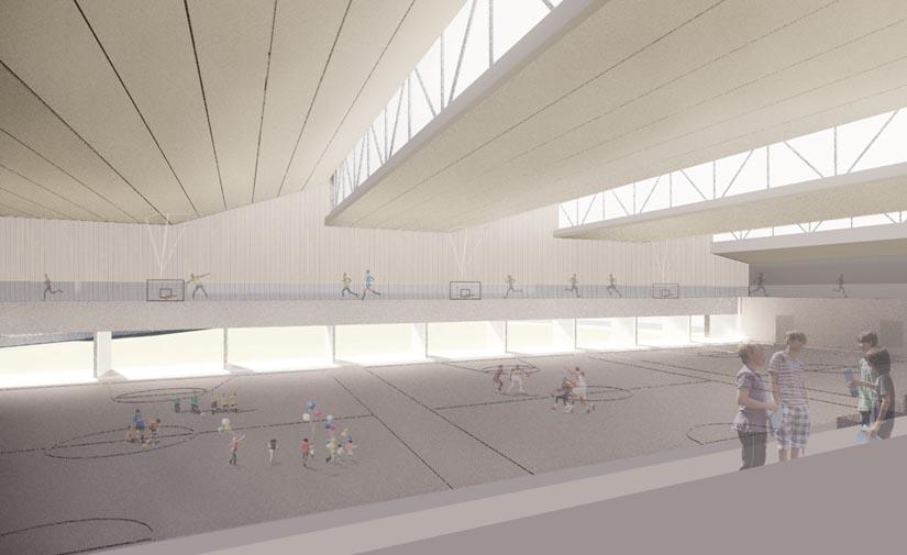Buztintxuri contará con un polideportivo inteligente, sostenible y eficiente desde el punto de vista energético