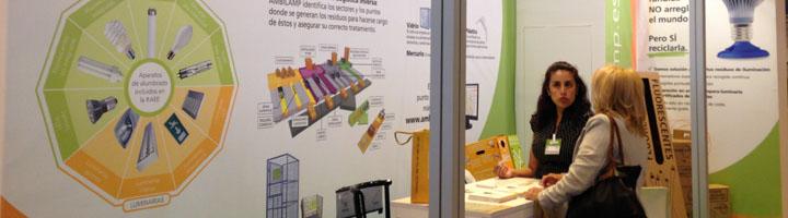 AMBILAMP conciencia sobre el reciclaje de lámparas y luminarias en TECMA
