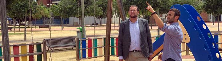 Murcia habilita siete nuevas zonas de sombra en espacios infantiles del municipio