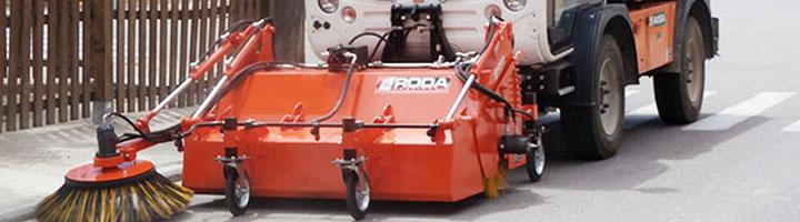 RODA Maquinaria, líderes en la fabricación de equipos para obra pública y limpieza vial