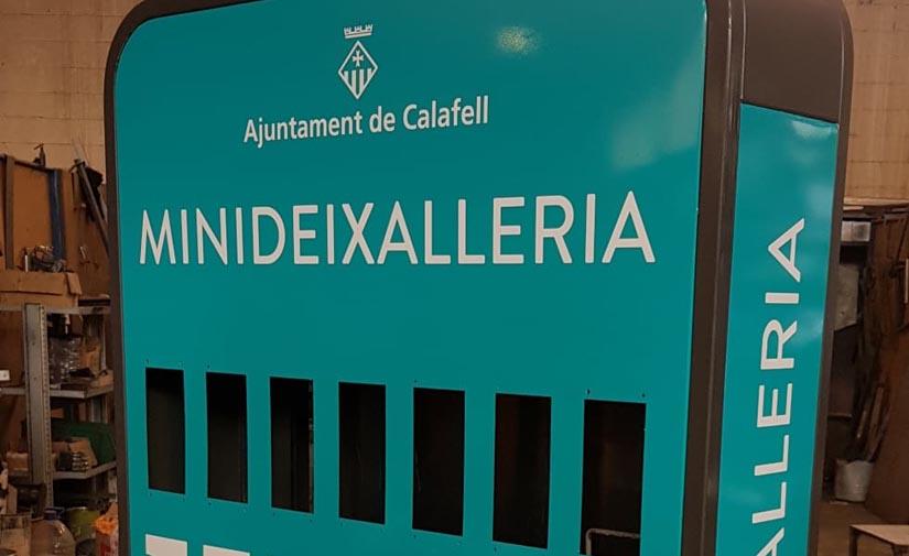 Calafell comienza a instalar minideixalleries para pequeños residuos tecnológicos y eléctricos