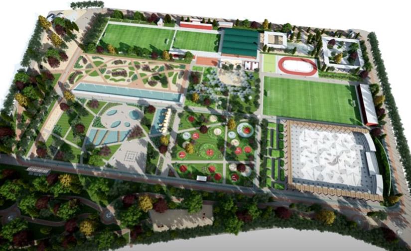 Canal de Isabel II obtienen la licencia para crear un gran parque y pistas deportivas en el distrito madrileño de Chamberí
