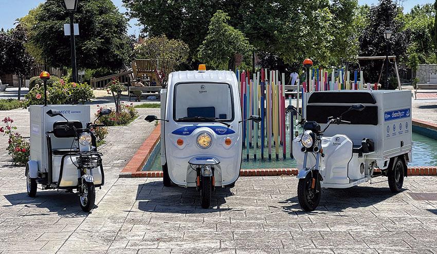 Carclean, el nuevo carro barrendero eléctrico de la línea Cleancity de Fabrez Group