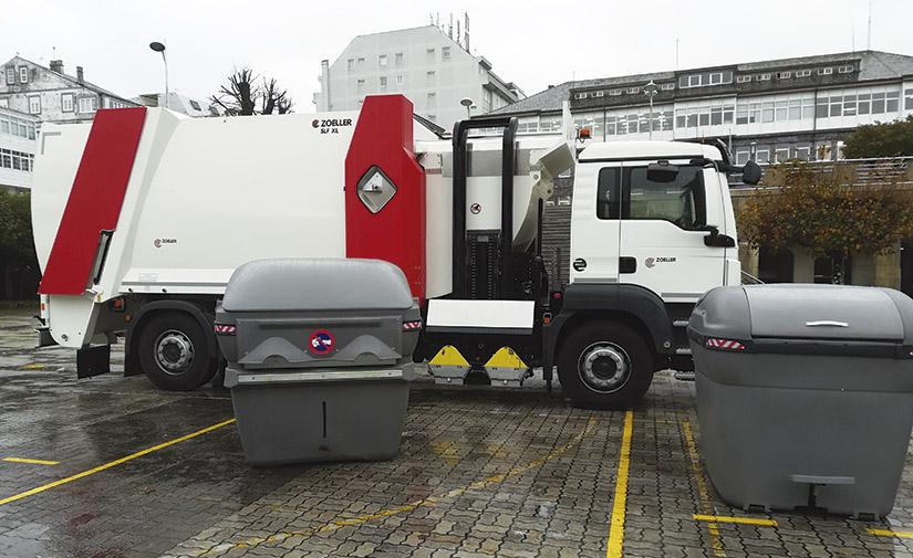 Carga Lateral Diamond 2200/3200, un contenedor innovador para mejorar la recogida de residuos urbanos