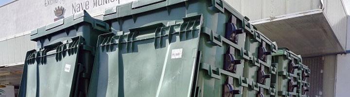 Conil de la Frontera añade a su flota 150 contenedores para el depósito de residuos orgánicos y plásticos y envases