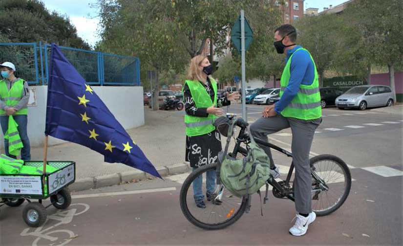 Castellón visibiliza su red ciclista de sello europeo y avanza en el diseño de un modelo urbano sostenible