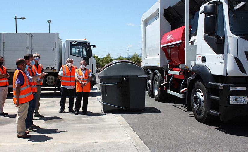 Castellón refuerza la recogida de residuos urbanos con nuevos vehículos impulsados por gas natural