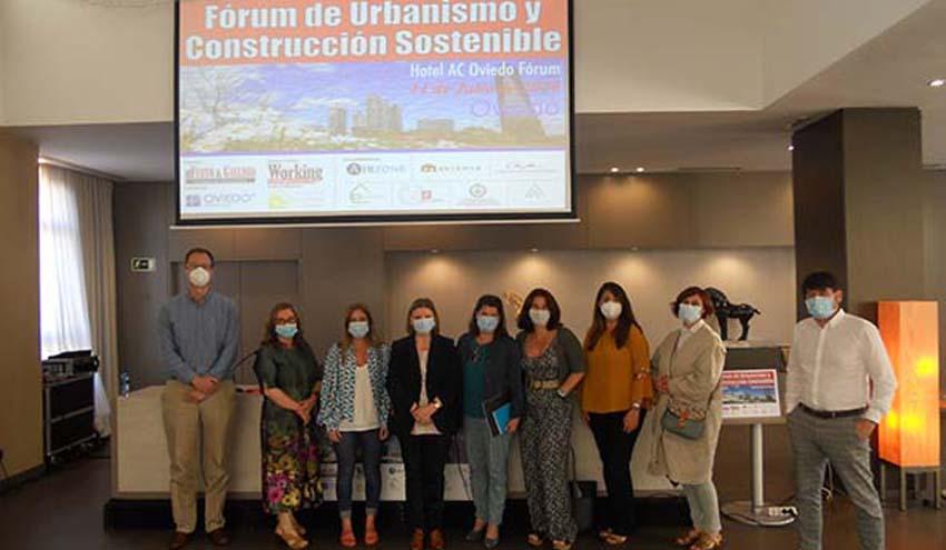 Celebrado con éxito en Oviedo el Fórum de Urbanismo y Construcción Sostenible 2020