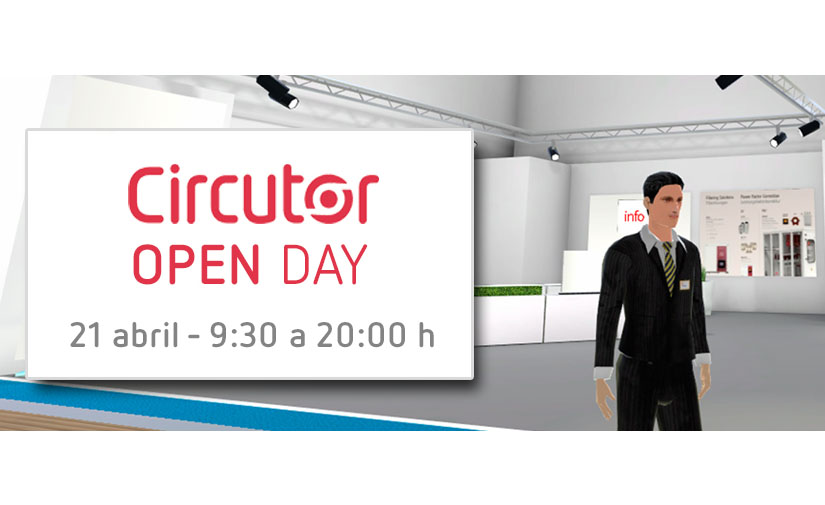 Circutor Open Day, una feria en entorno virtual para conocer las novedades de la industria