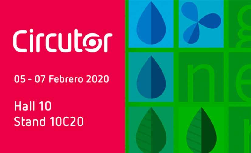 CIRCUTOR participa en Genera 2020, Feria Internacional de Energía y Medio Ambiente