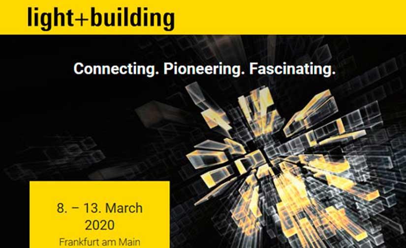 CIRCUTOR participará en la feria Light + Building 2020, del 8 al 13 de marzo en Frankfurt (Alemania)