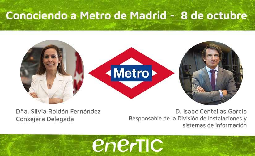 Coloquio EnerTIC con Metro de Madrid