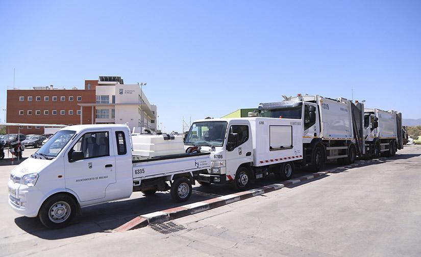 Comienza a funcionar la nueva empresa municipal de limpieza de Málaga