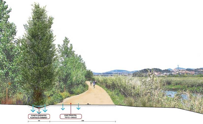Comienza la recuperación socioambiental del Río Llobregat a su paso por Pallejà
