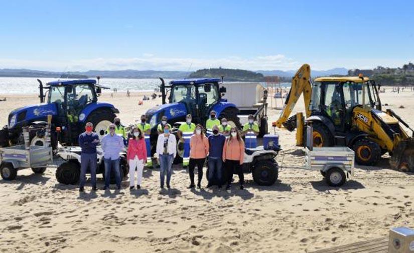 Comienza la temporada de playas en Santander se refuerza la limpieza