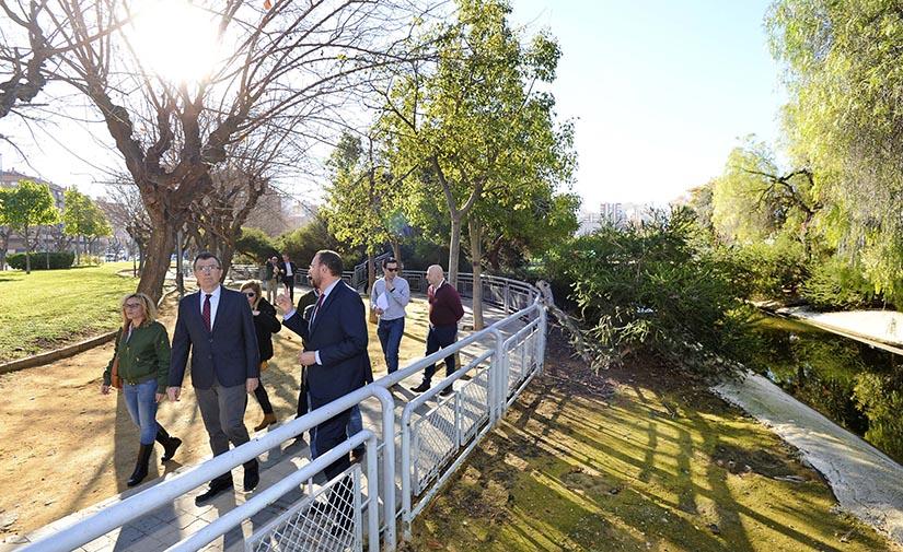 Comienzan las obras de reforma del jardín de Fofó en Murcia