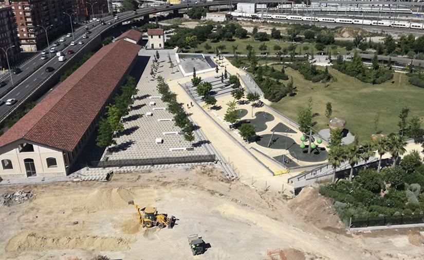 Comienzan las obras pendientes de ejecutar en el Parque Central Russafa-Malilla