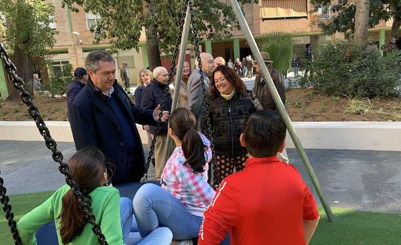 Concluye la reurbanización de la plaza Salesiano Don Ubaldo de Triana de Sevilla