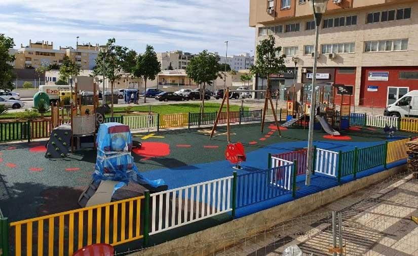 CONTENUR asume el suministro e instalación de varias áreas de juegos infantiles en la ciudad de Málaga