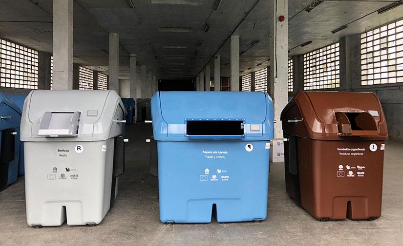 Contenur participa en el proyecto Waste4think en Zamudio
