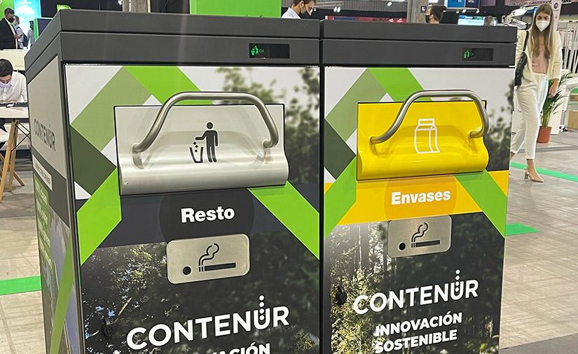 CONTENUR y URD se unen para lanzar al mercado la papelera inteligente SmafyBin
