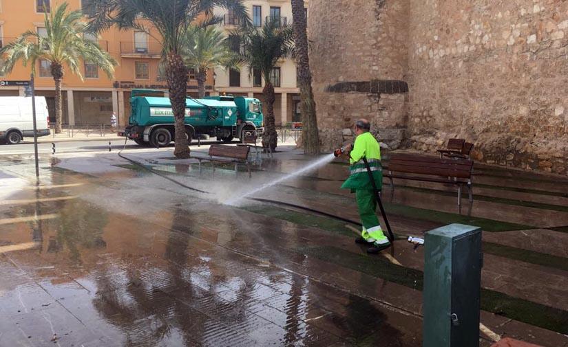 Cuatro empresas se presentan al concurso para el nuevo servicio de limpieza de Elche