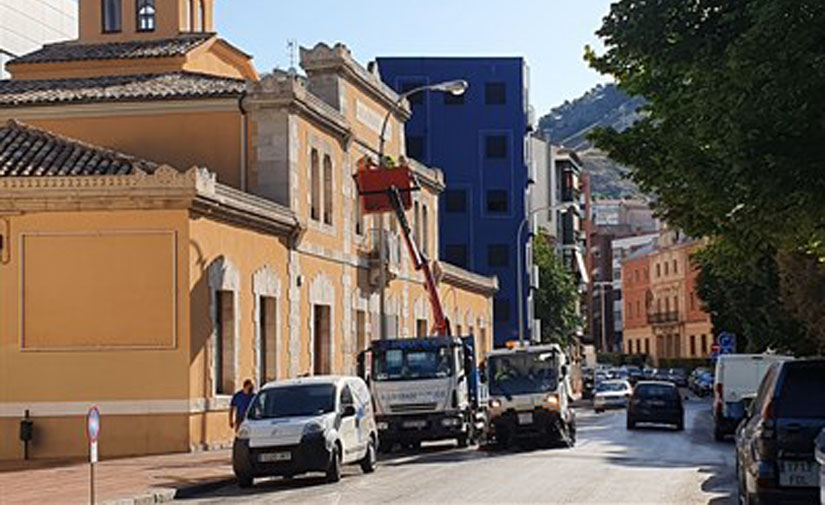 Cuenca instala una veintena de nuevos sensores dentro de la red Smart City