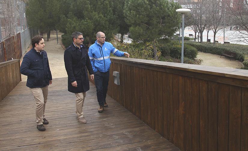 Culminan las mejoras del Parque de Cataluña de Alcobendas