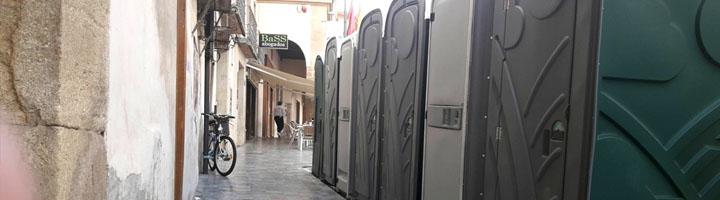 El dispositivo logístico de Lorca para Semana Santa incluye 37 aseos portátiles y 8 carpas