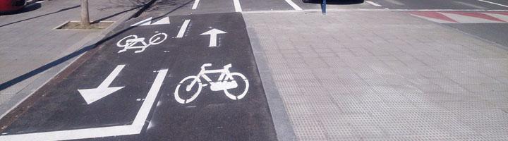 Vitoria prolonga 260 metros el carril bici en la calle Chile