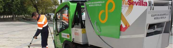 Lipasam es referente nacional en la apuesta por la introducción del vehículo eléctrico en tareas de limpieza urbana