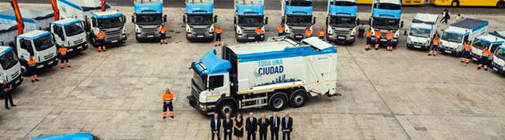 Las Palmas de Gran Canaria refuerza el servicio de limpieza con la incorporación de 25 nuevos vehículos de última tecnología