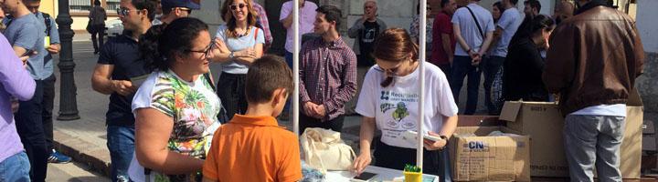Socios de varias ciudades europeas visitan los contenedores inteligentes de Sant Marcel·lí