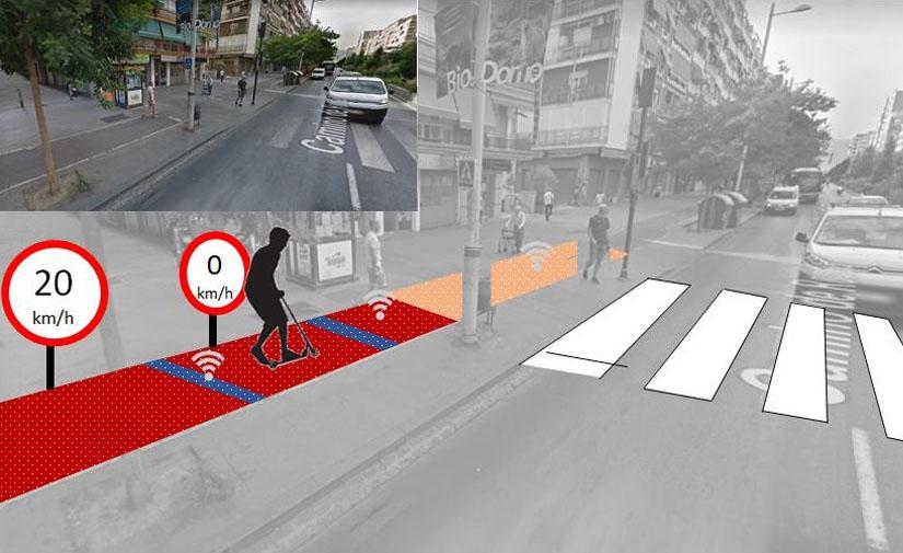 Desarrollan asfaltos inteligentes para mejorar la seguridad de los vehículos de movilidad personal