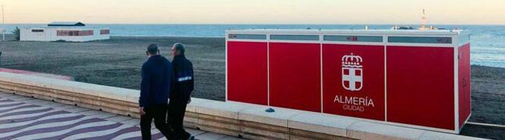 Almería adjudica la instalación de 1.700 metros de pasarelas articuladas de hormigón y varios aseos en sus playas